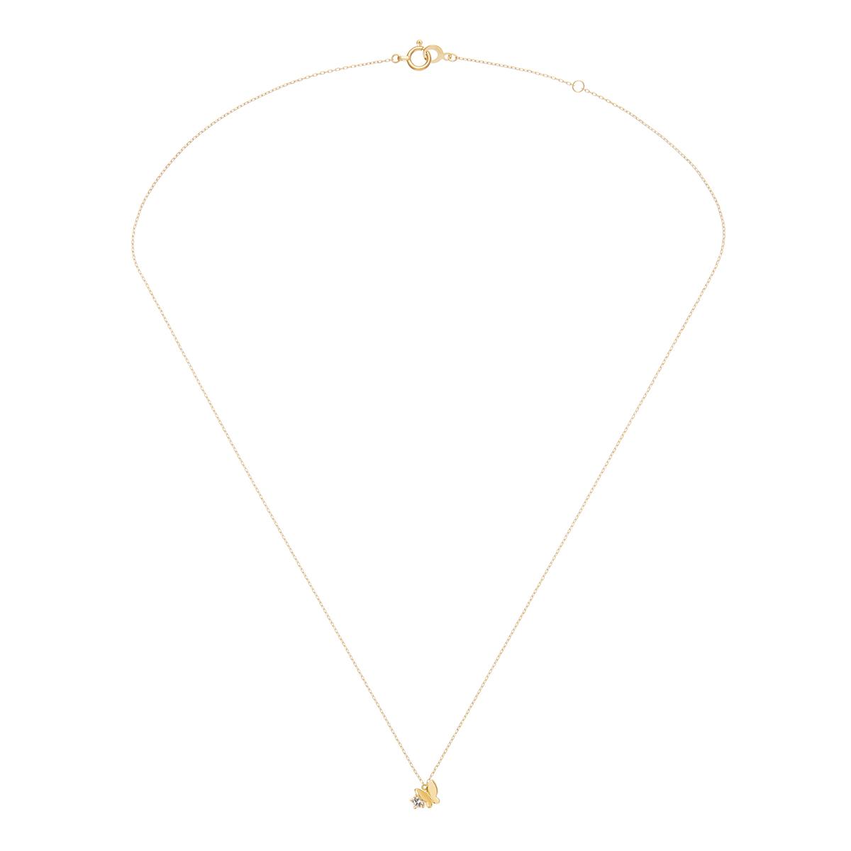 パピヨンブリリアンプチ (ダイヤモンド) ネックレス