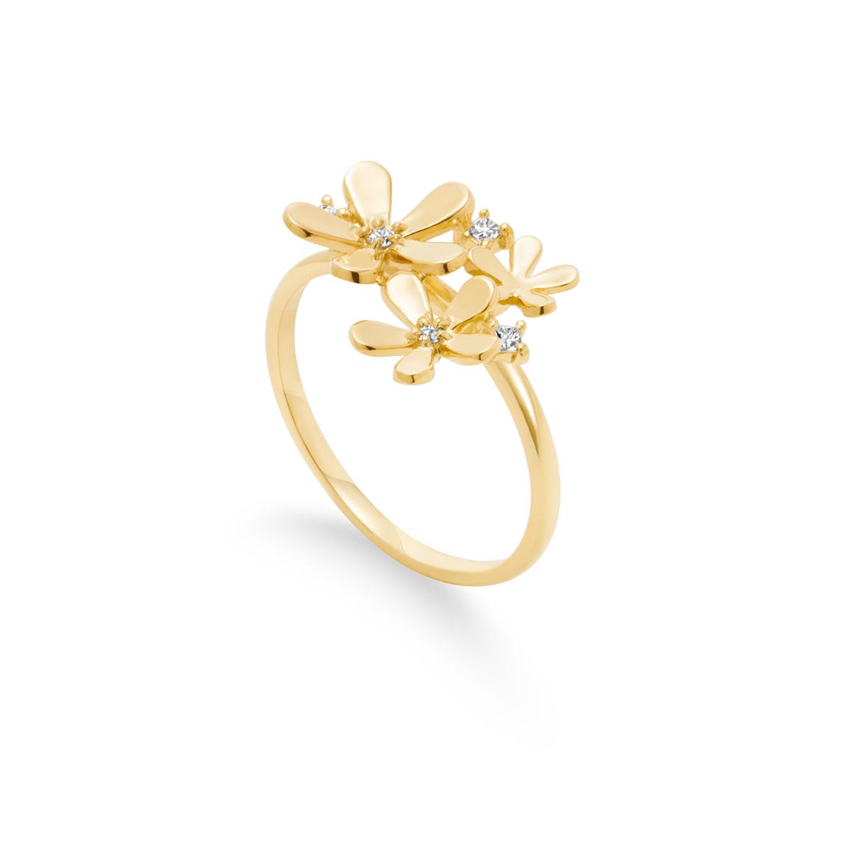 fleur brillante 戒指