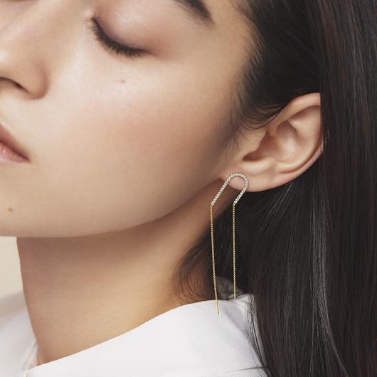 le coeur diamond 耳環