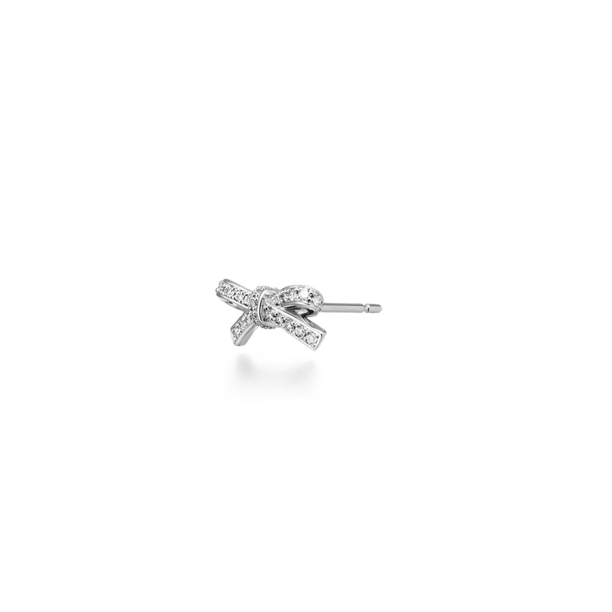 petit ruban diamond 耳環