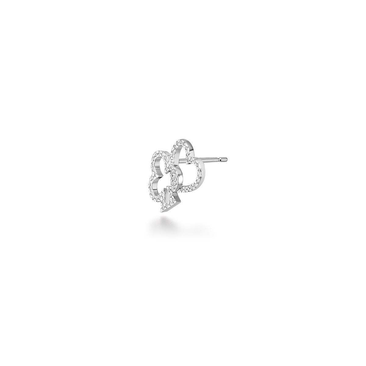 march diamond 耳環 (heart&club)