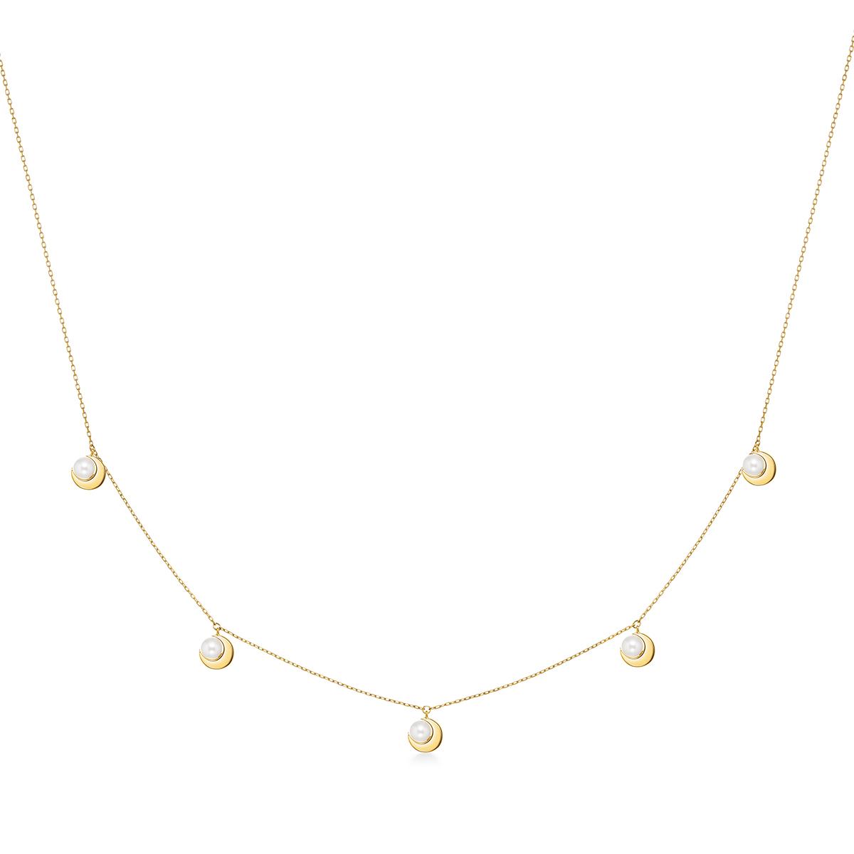crescent pearl station 項鍊