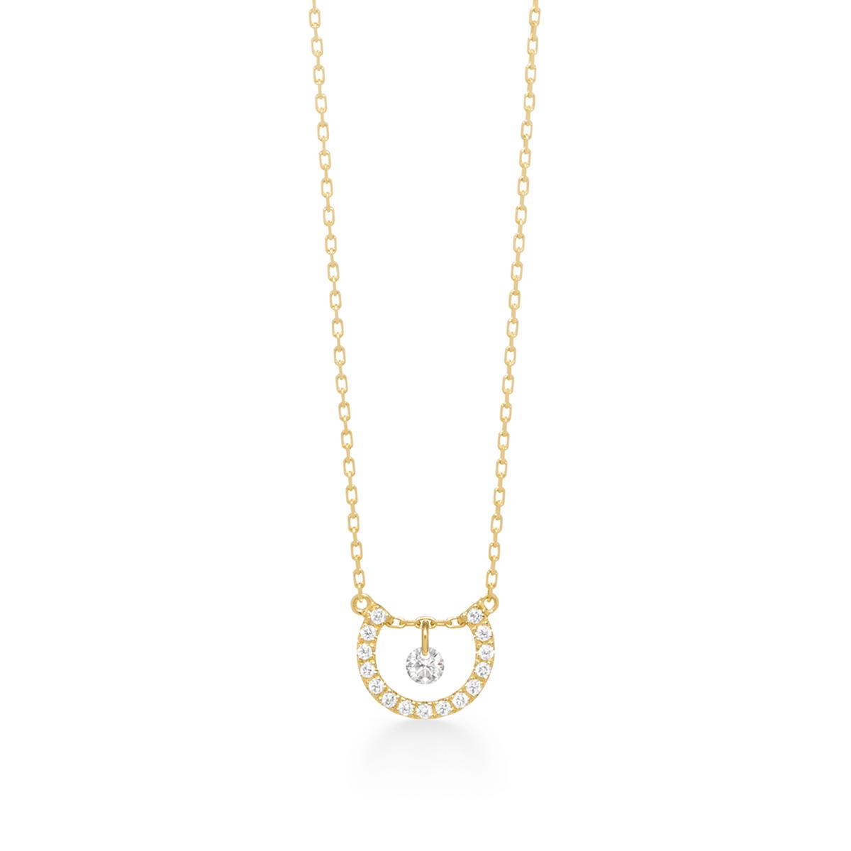ビンドゥアーチダイヤモンド ネックレス