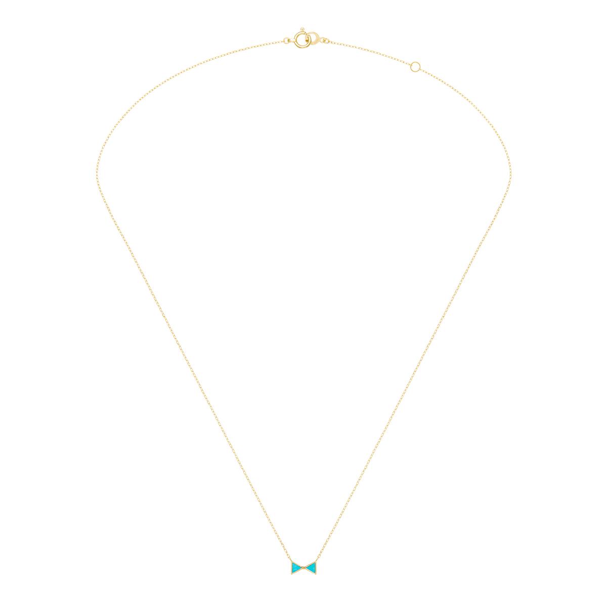 セブロンカラー(ブルー) ネックレス