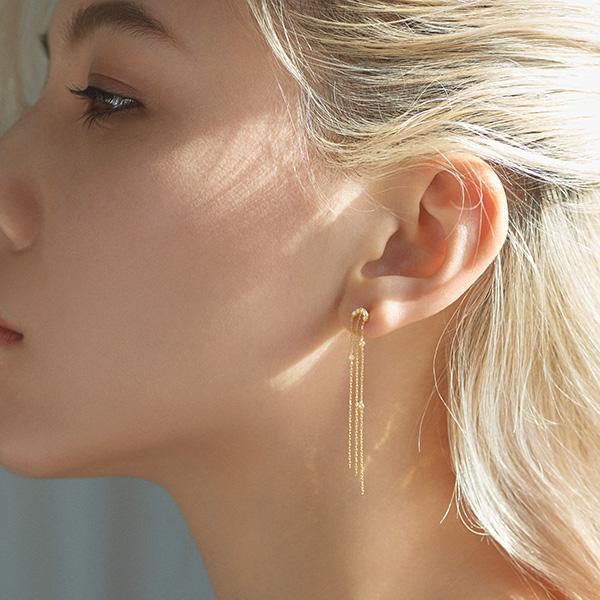le coeur petit diamond 耳環