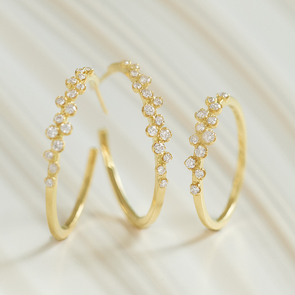 believe dew hoop earrings