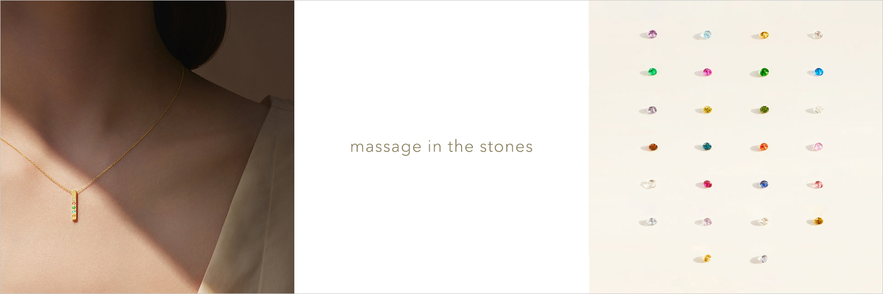 massage in the stones